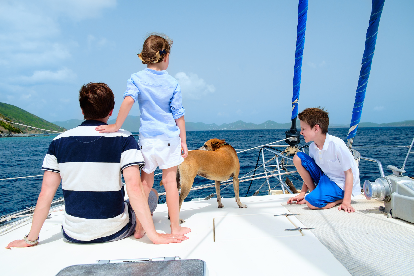 Sailing with children