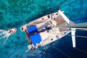 Sailing with catamaran charter in Croatia