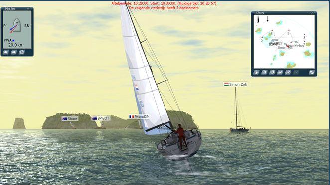 Sail Simulator Screenshot
