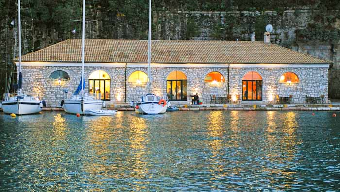 Corfu Sailing Club Restaurant