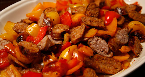 sausage-peppers