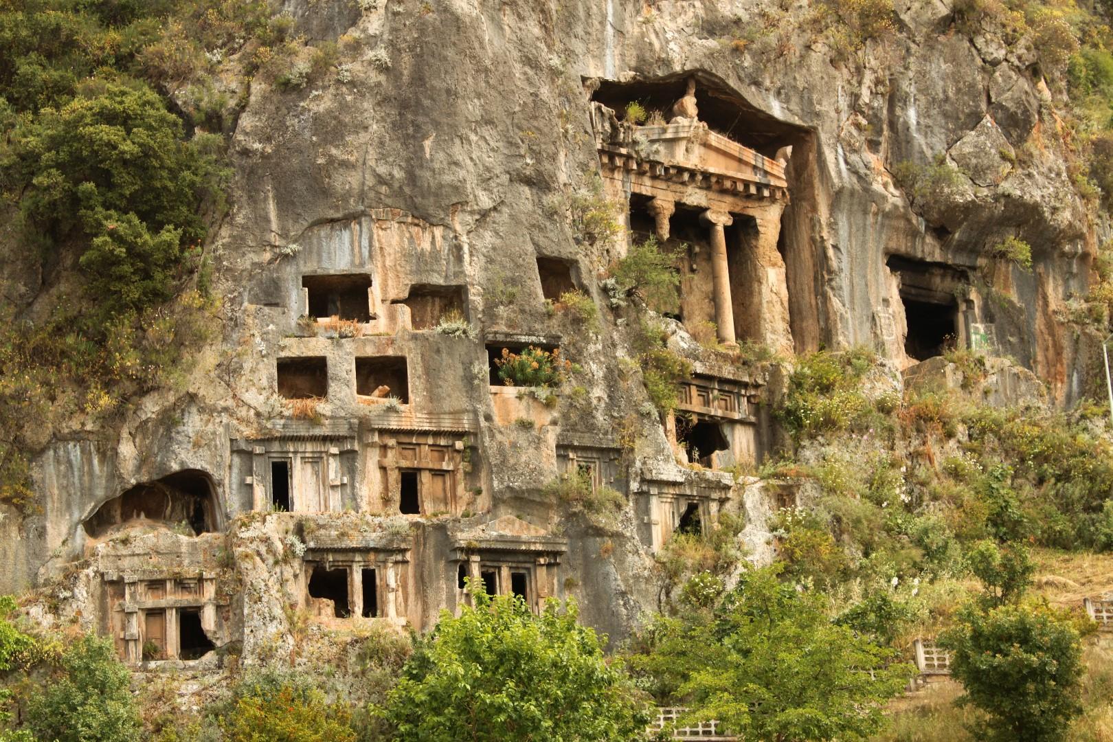Lycian Rock Tombs, Fethiye