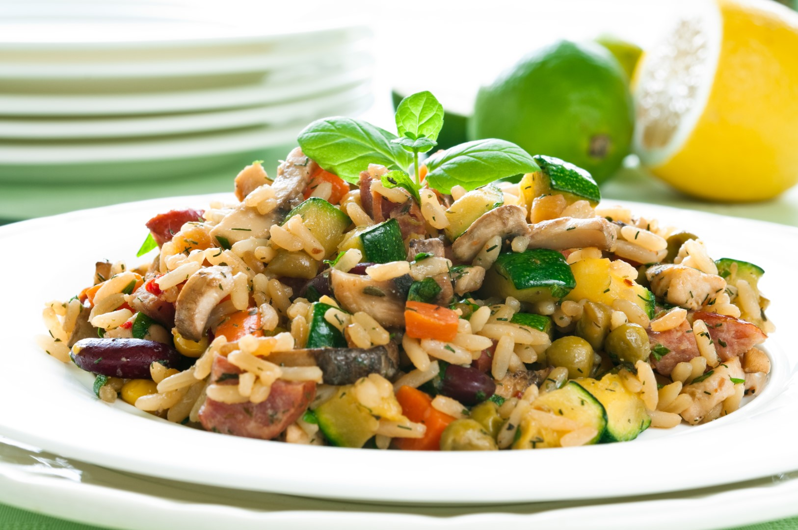 Risotto_chicken_vegetables