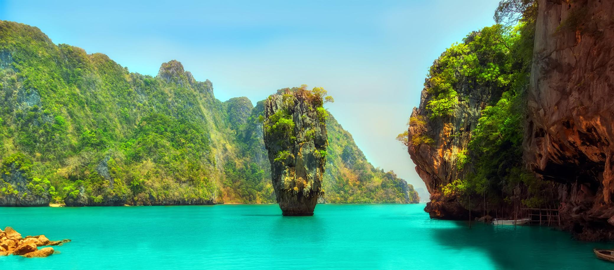 Phi Phi Island James Bond Movie