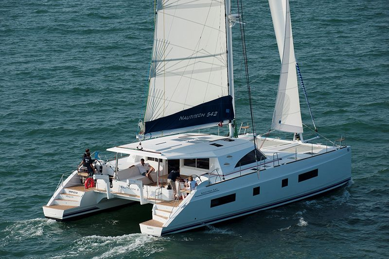 Nautitech 542 catamaran
