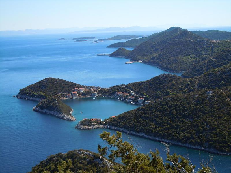 Zaklopatica bay in Croatia