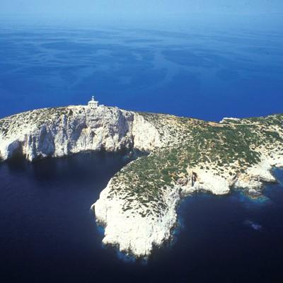 The island of Sušac, Croatia