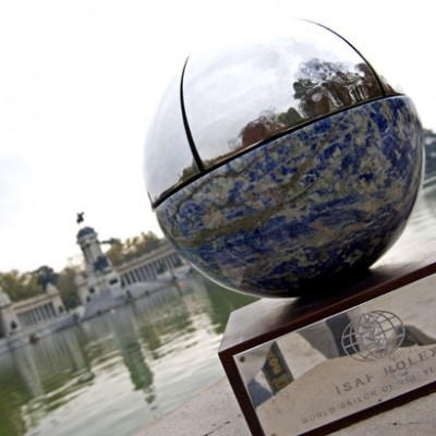 The trophy in Parque del Retiro
