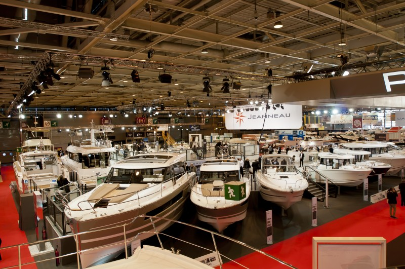 the most important boat show in december salon nautique