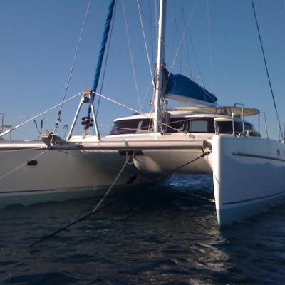 Mooring Catamaran
