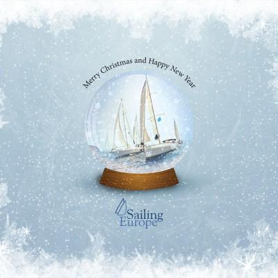 A SailingEurope Christmas card