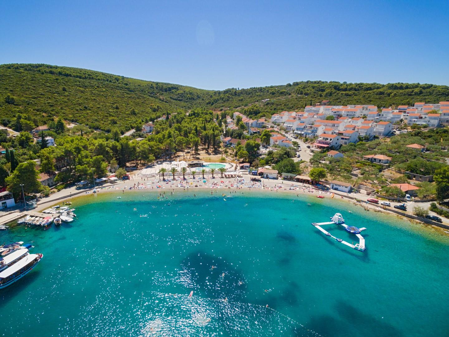 Necujam bay, Solta, Croatia