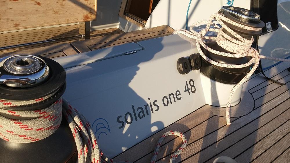 Solaris one 48 logotype