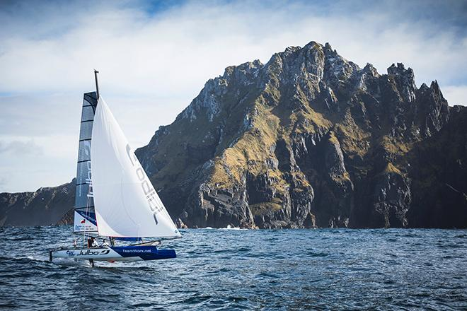 Foiling Cape Horn