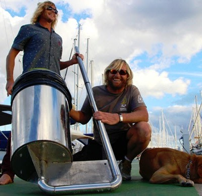 The Seabin and its founders