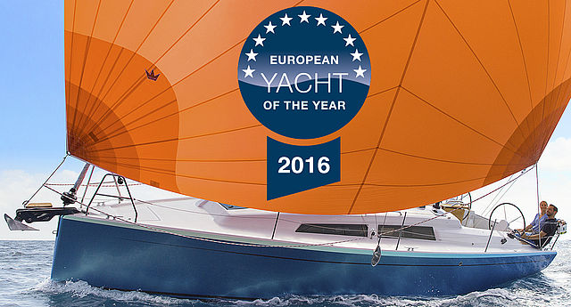European Yacht of the Year banner
