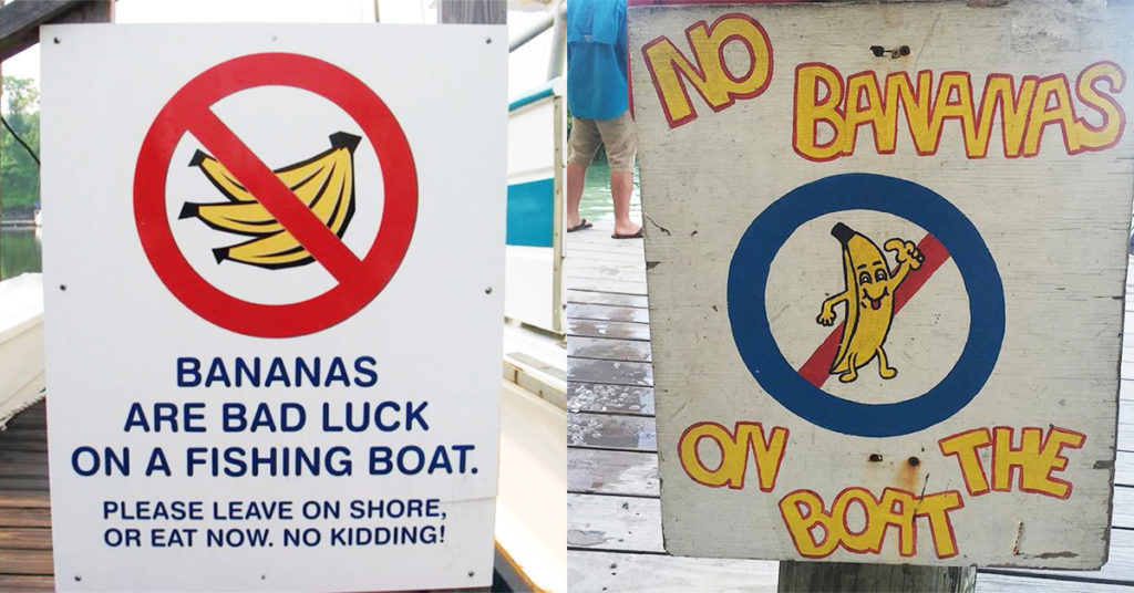 No bananas on board