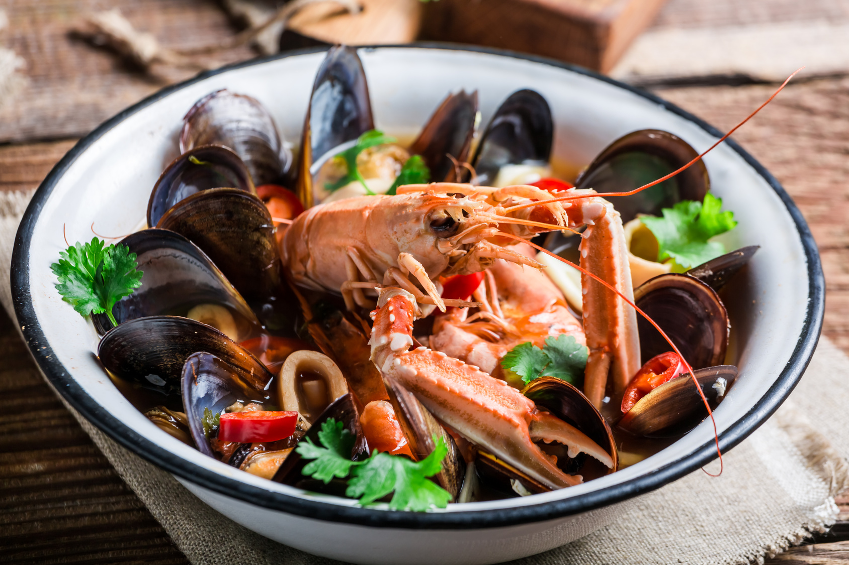 mussels mix