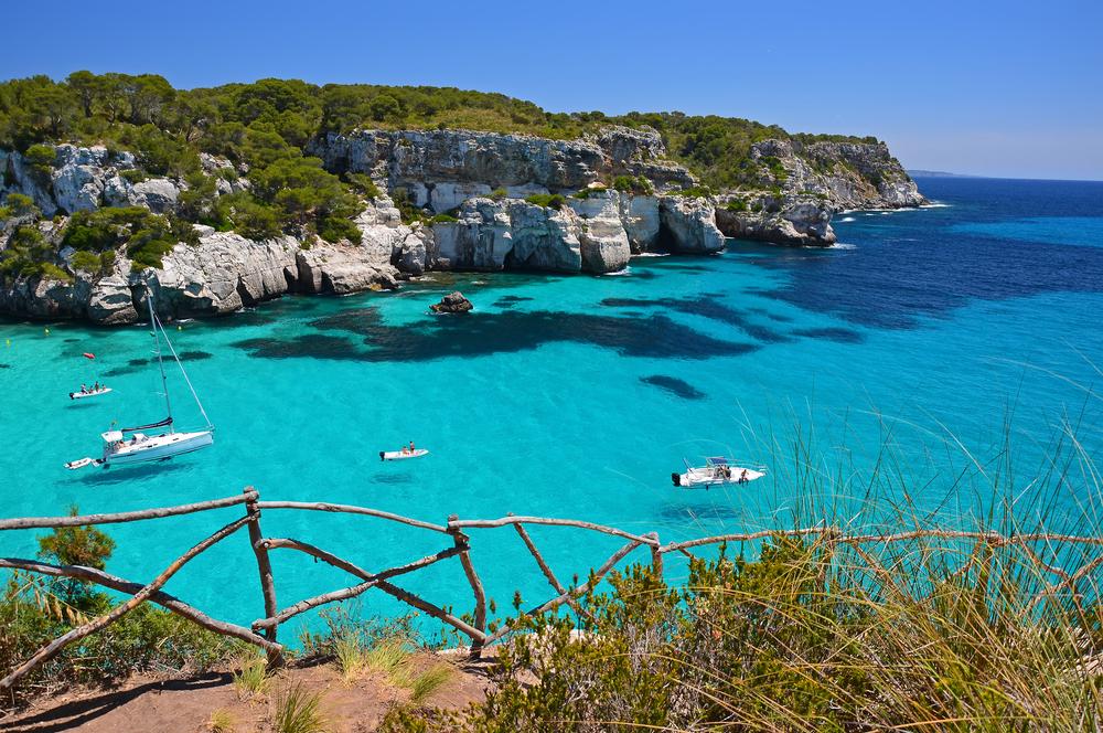 Baleari, Macarella bay, Menorca