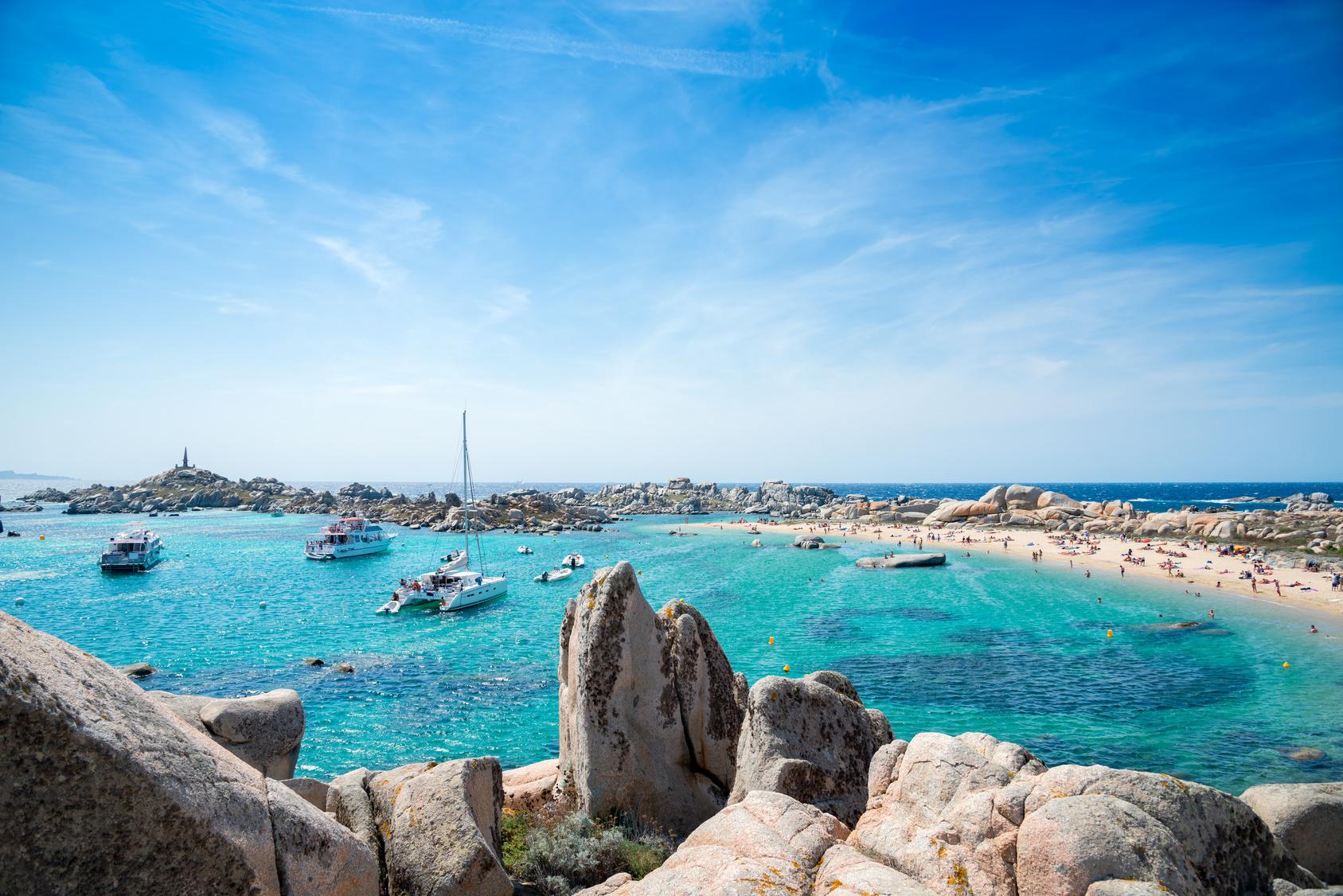 Cala Acciarino, Lavezzi Island, Corsica, France