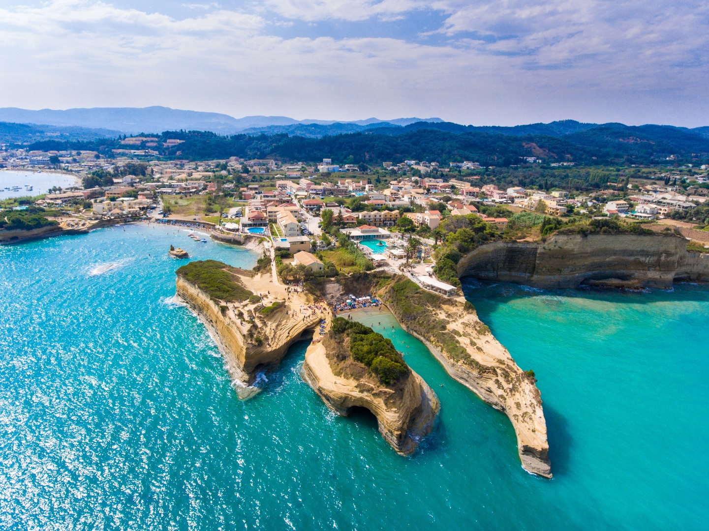 Canal D'Amour, Corfu, Greece