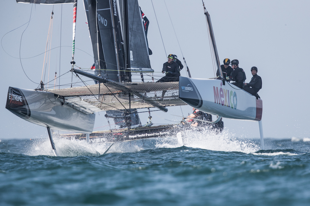 Extreme Sailing Series - Muscat