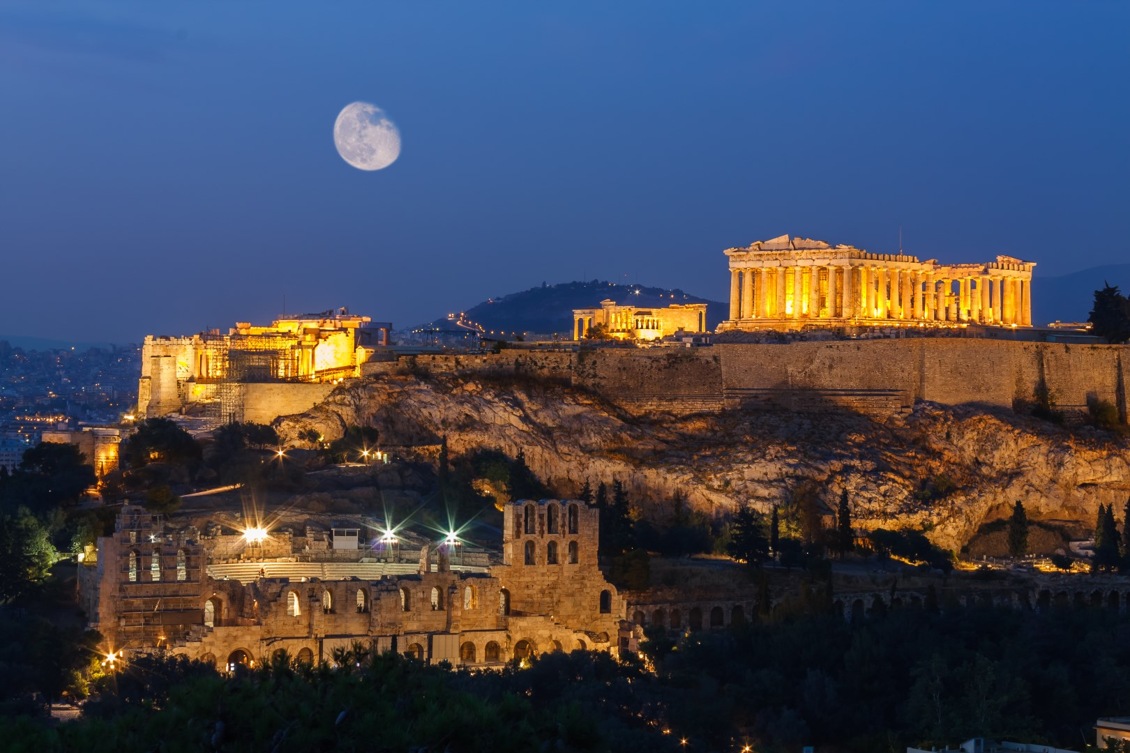 sailing holidays in greece, athens