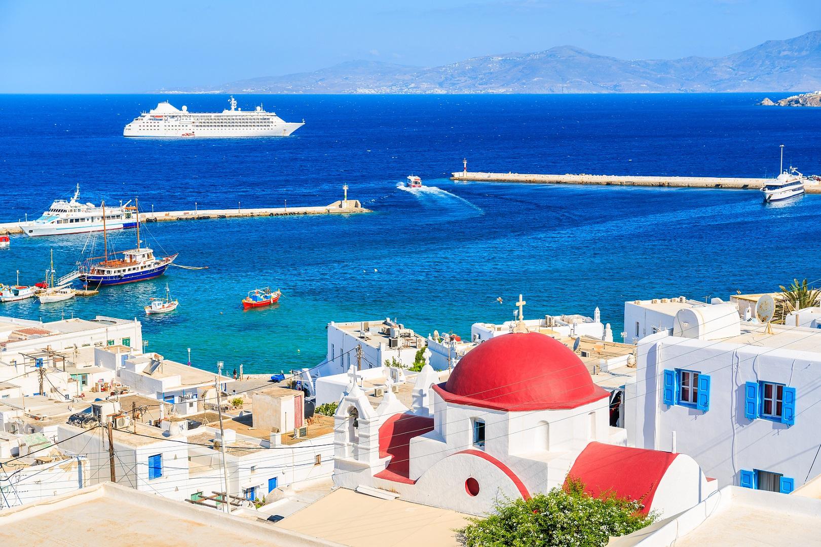 Greece-Cyclades-Islands-Mykonos-Port-Marina