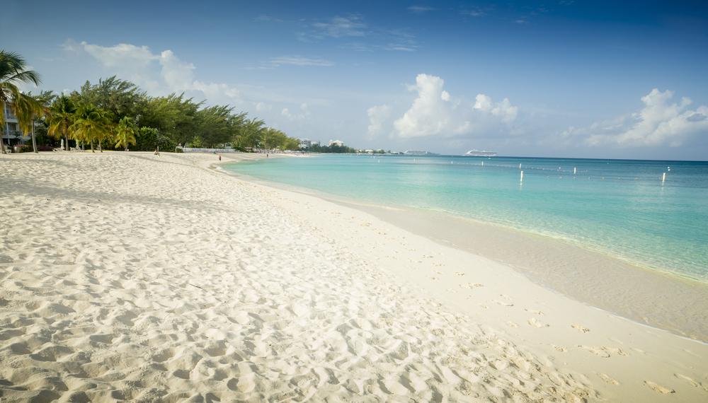 A beach on Cayman Islands
