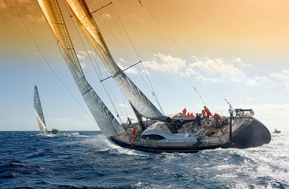 Sailors sailing