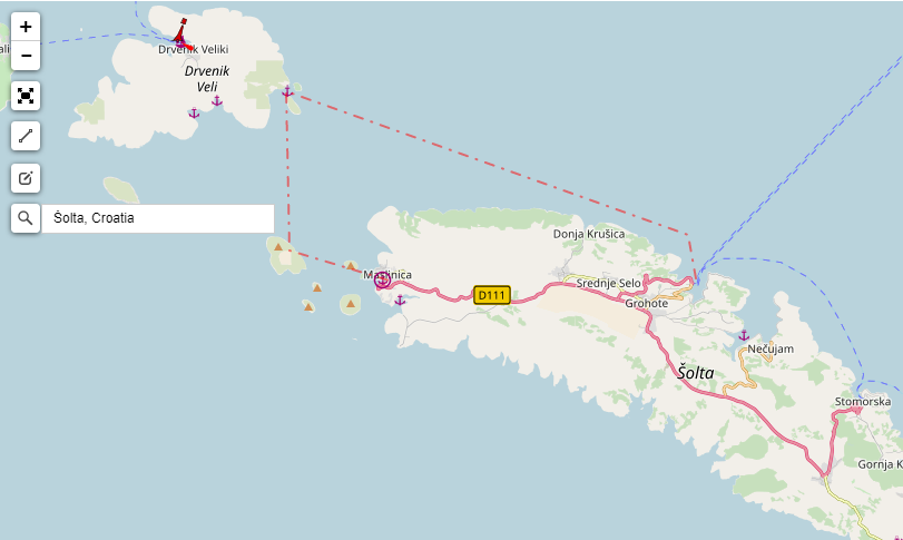 Interactive Route Planner Sailing Europe