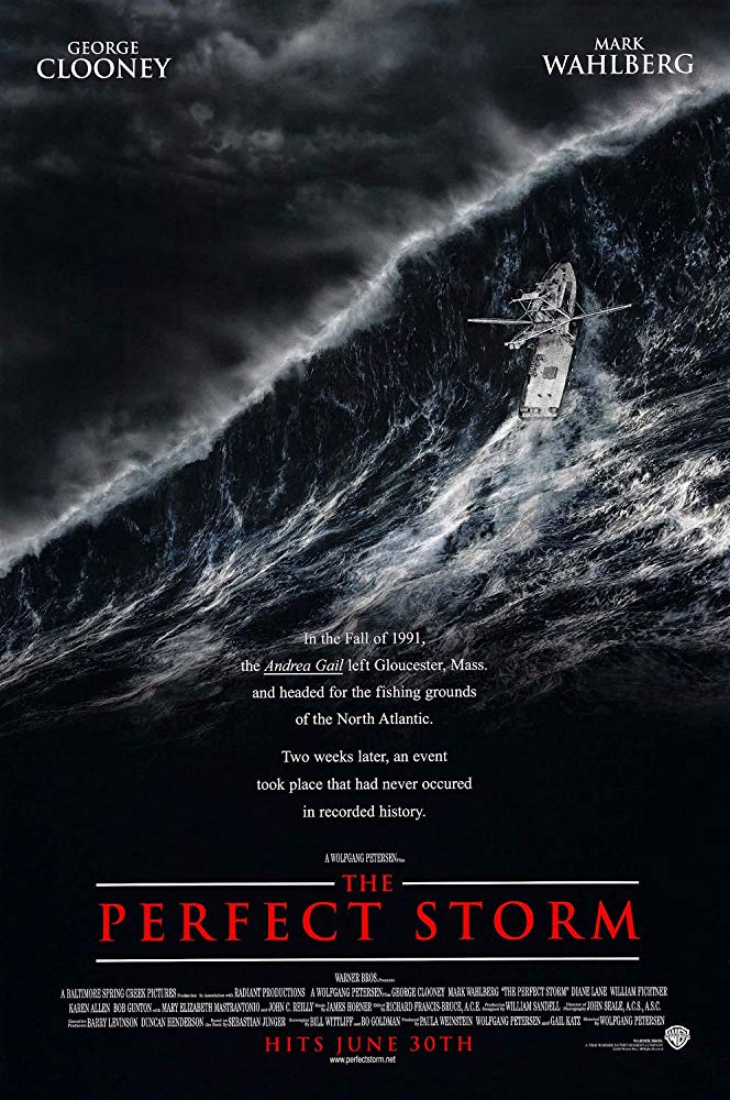The Perfect Storm - movie cover