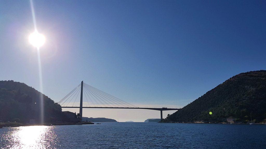 ACI Marina Dubrovnik bridge