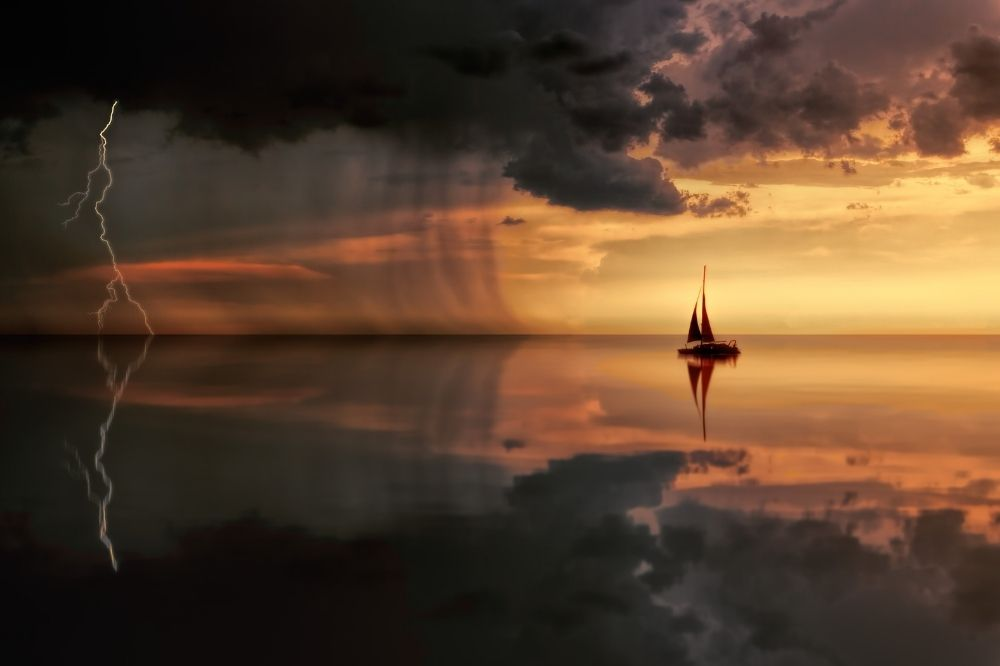 Red Sky in Mourning - Sailing Book