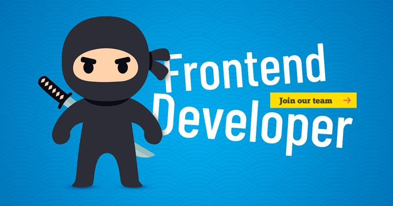 Apply for FronEnd Developer job at SailingEurope